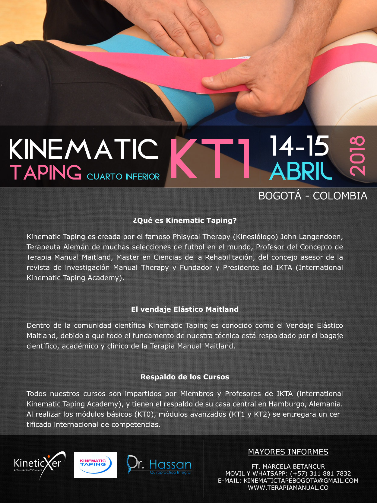 Kinematic Taping Kt1 - Bogotá Marzo 2018-023